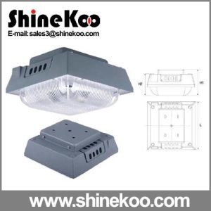 Big Gas Station PC Cover LED Lights Housing (SUN-PGC-14) pictures & photos
