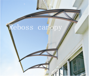 Polycarbonate DIY Shutter / Canopy / Sunshade/ Shed for Windows& Doors (V1200A-L) pictures & photos