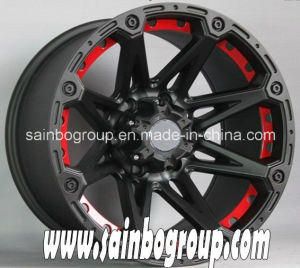 Popular 4X4 Accessories Blue Car Alloy Wheels for Jeep, SUV BMW pictures & photos