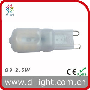 LED Light Bulb G9 2.5W PC Cover 220V 240V pictures & photos