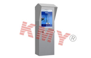 Interactive Information Multimedia Outdoor Kiosk with Shed and Keyboard pictures & photos