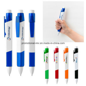 Promotional Plastic Large Ballpoint Pens pictures & photos