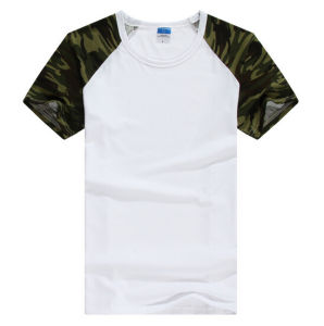 Customize100% Cotton Round Neck Print Men T -Shirt pictures & photos
