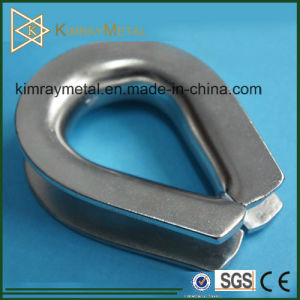 G411 Stainless Steel Wire Rope Thimble pictures & photos