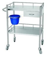 High Quality of Stainless Steel Hospital Dressing Trolley pictures & photos