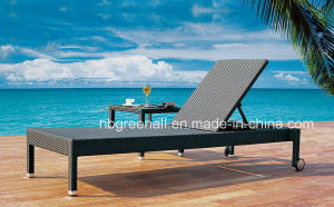 Wicker Aluminum Frame Outdoor Rattan Beach Lounge Leisure Chair pictures & photos