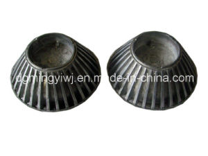 LED Alimunum Die Casting Parts with Powder Coated Treatment Made in Chinese Factory