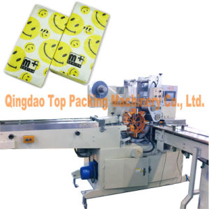 Tissue Folding Process Pocket Paper Packing Machine pictures & photos