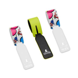 Customized Logo Leather Luggage Tag as Promotional Gift pictures & photos