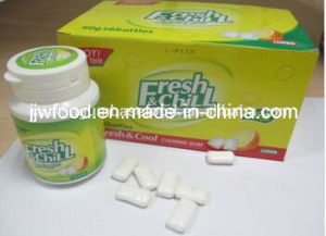 Fruit and Mint Double Flavors Chewing Gum pictures & photos
