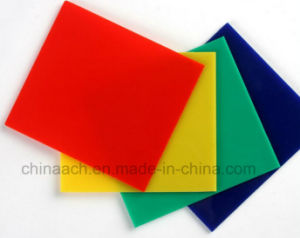 Yellow and Red PMMA Sheet