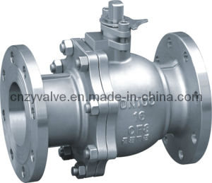 Flanged Floating Ball Valve (Q41H) pictures & photos