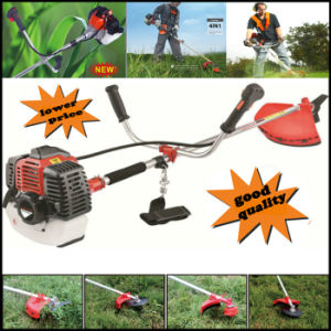 CE Approved Heavy Duty Petrol Strimmer Grass Trimmer, Brush Cutter, 3 Tooth Blades Petrol Lawnmower