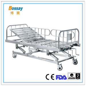 BS-839s Stainless Steel Hospital Three-Function Bed pictures & photos