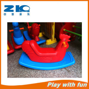 Kids Chicken Plastic Rocking Horse for Kindergarten pictures & photos
