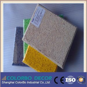 Sound Insulation Wall Decoration Wood Wool Panel pictures & photos