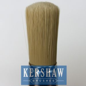 Round Brush (Paintbrush with Pure White bristle and beech wood handle, flat-round brush) pictures & photos