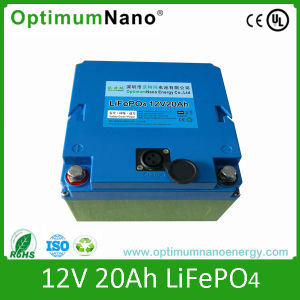 12V 20ah LiFePO4 Lithium Start Battery for EV pictures & photos