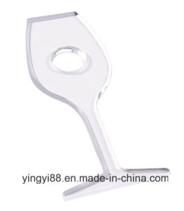 Super Quality Acrylic Wine Bottle Holder for Promotion pictures & photos