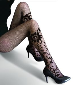 Floral Pattern Sexy Tights 8596 pictures & photos