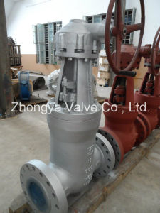API Wc6 Material Class900 Gate Valve (Z41H-900LB-10) pictures & photos