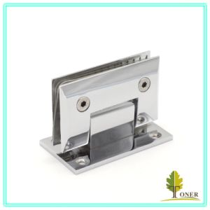 Zinc Alloy Shower Hinge/ 90 Degree Cambered Surface Hinge