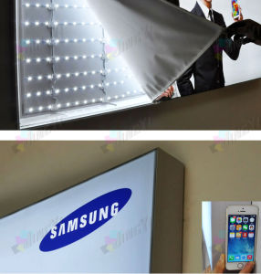 Dye Sublimation Polyester Fabric Banner Display Aluminum Alloy LED Lightbox pictures & photos
