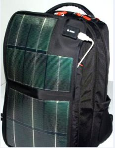 Outdoor Convenient Solar Laptop Backpack with Solar Panel