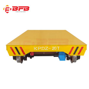 Hydraulic Automatic Special Transfer Trolley with Flat Bed (KPD-30T) pictures & photos