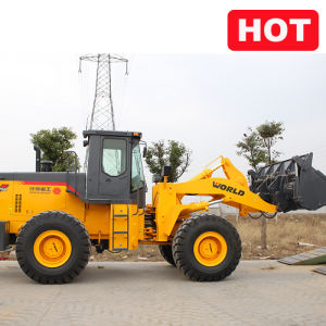 220HP Powerful 5tons 3cbm Front End Loader pictures & photos