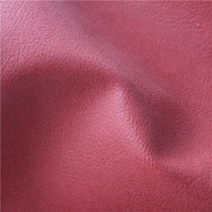 Wholesale New Style Semi PU Furniture Leather with Low Price (807#) pictures & photos