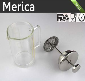 Stainless Steel and Double Wall Glass Pot Coffee Pot pictures & photos