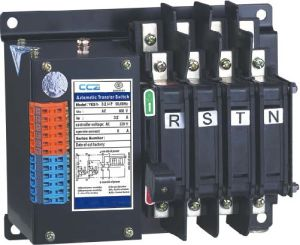 PC Class N Type Two Section Automatic Transfer Switch ATS 25A-125A pictures & photos