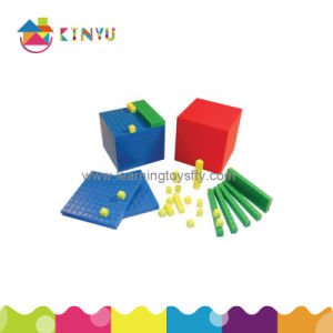 Plastic Base 10 Decimal Blocks (K001) pictures & photos