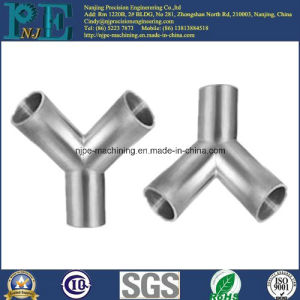 Precision CNC Machined Forging Pipe Fittings pictures & photos