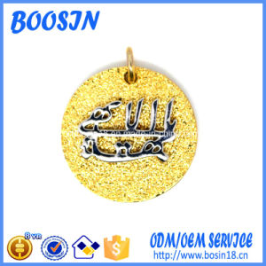 Fancy Custom Gold Logo Tag Design for Decoration pictures & photos