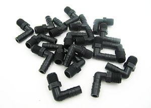 """Free Shipping! ! Clearance Sale 100PCS Package of Ogo Black Elbow NPT 1/4"""" * 3/8"""" Tube Bar. pictures & photos"""