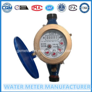 Iron Multi-Jet Dry Dial Register Type Water Meter (Dn15-20mm) pictures & photos