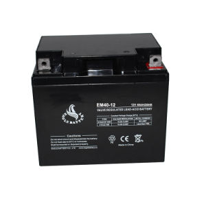 12V 40ah Sealed Rechargeable Lead Acid Battery pictures & photos