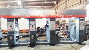 Aluminum Foil Computer Control Multicolor Gravure Printing Machine (paper, gluing machine) pictures & photos