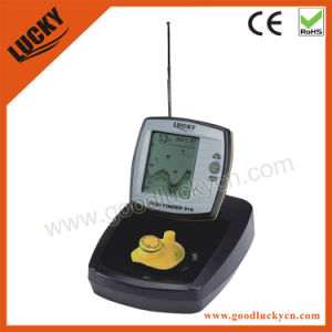 LCD Display 100meters Wireless Range Boat Fishfinder (FF918-W) pictures & photos