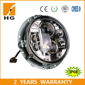"7"" CREE Headlights LED for Jeep Hi Low Jeep Jk pictures & photos"