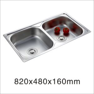 Kitchen Stainless One Stretched Sink (8248yq) pictures & photos