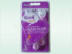 Four Blade Disposable Razor (KD-B4028L For lady) pictures & photos