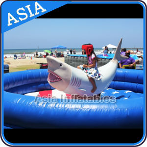 Exciting Mechanical Shark Riding Inflatable Games pictures & photos