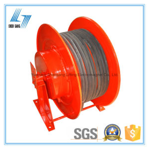 Spring Loaded Retractable 50m Cable Reel pictures & photos