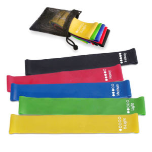 Exercise Resistance Loop Band Fitness Resistance Band Loop with Bag pictures & photos