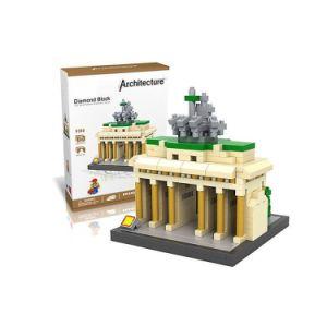 6739385-Brandenburg Gate Diamond Building Block Educational Toy pictures & photos