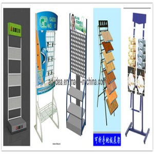 Flooring Display Rack/Exhibition for Goods Promotion pictures & photos