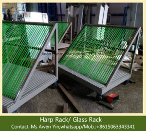 Glass Trolley - Harp Rack-Insulating Glass Processing Machine pictures & photos